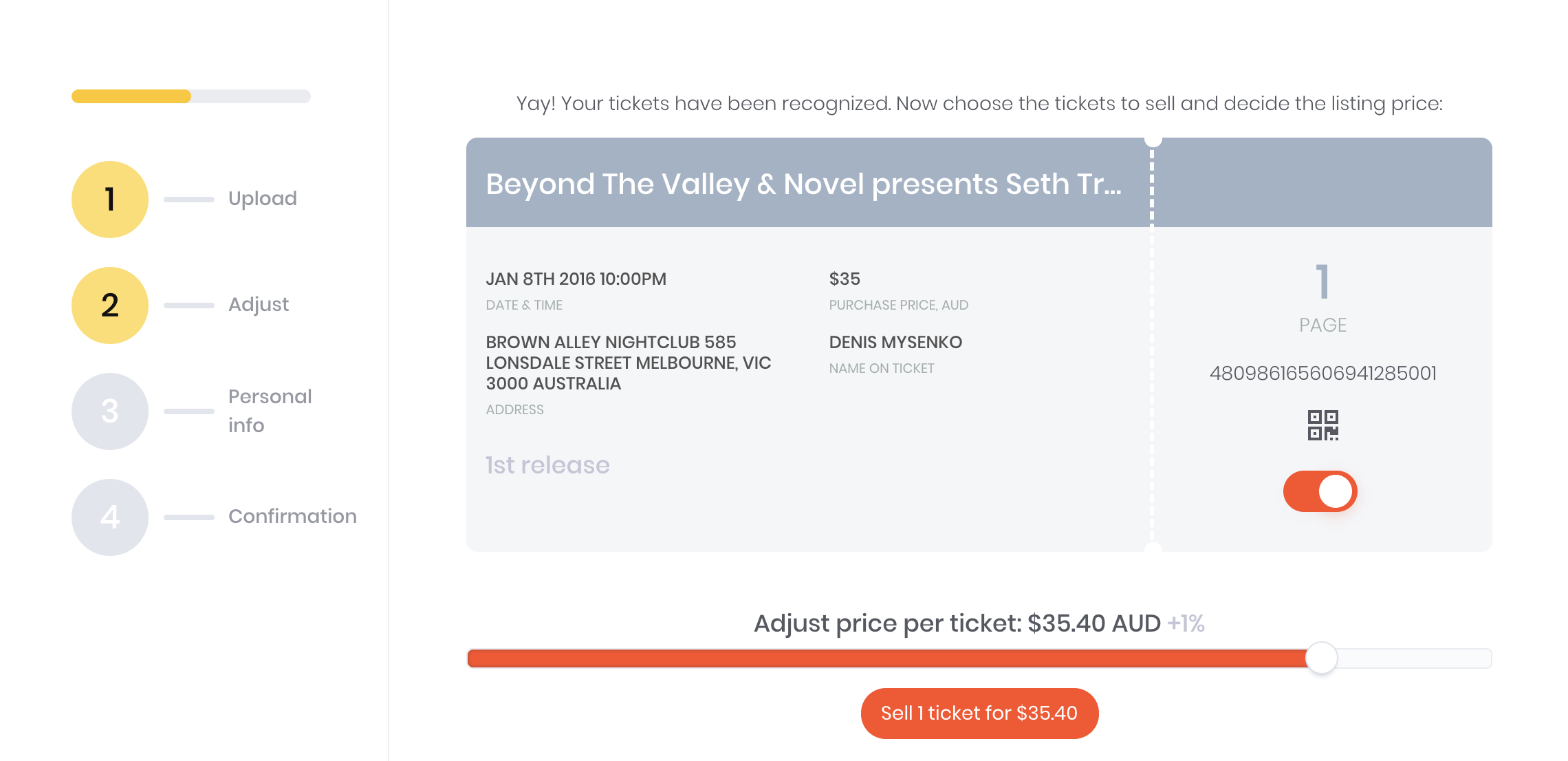 How to resell an Eventbrite ticket - Tixel - Medium