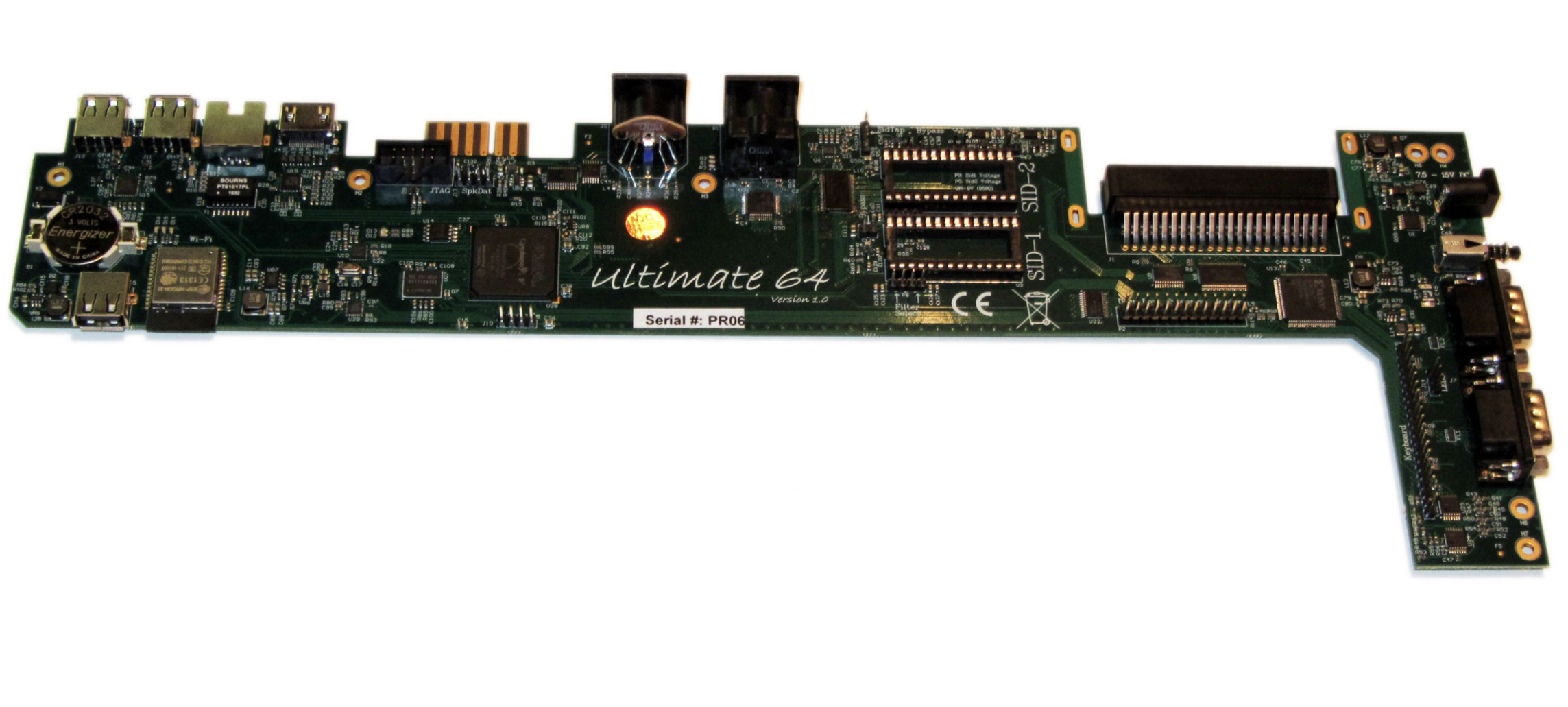 The Ultimate-64 Is a Commodore 64 Clone in an FPGA Format