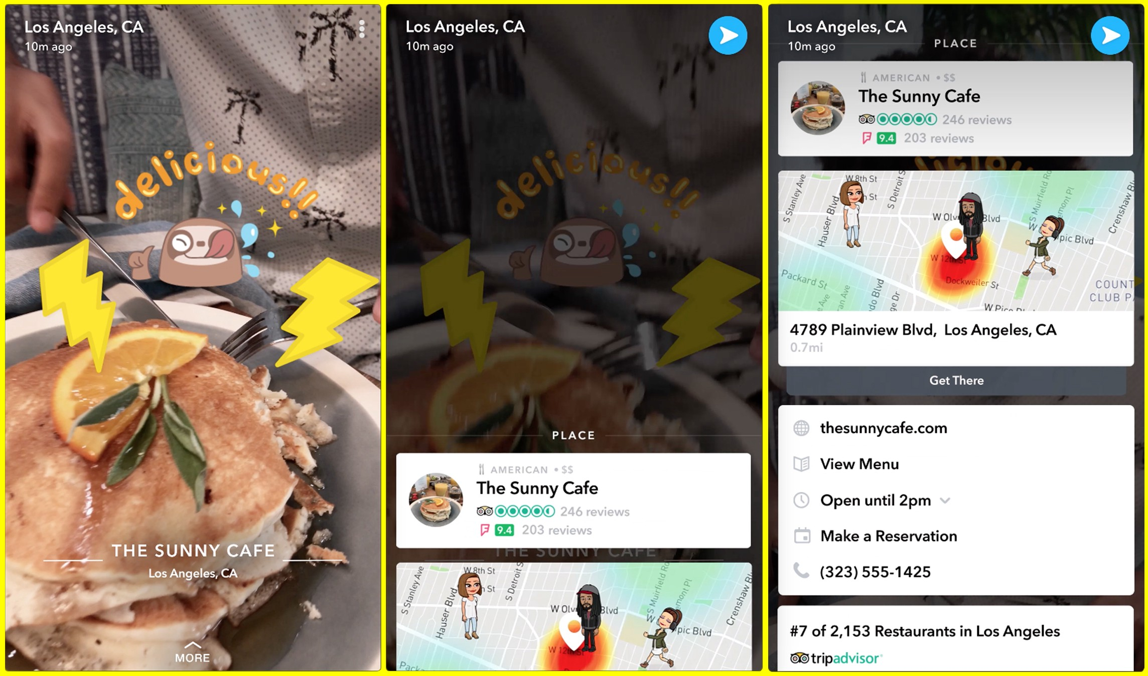 Oh, Snap! More Foursquare in your Snapchat - Foursquare - Medium