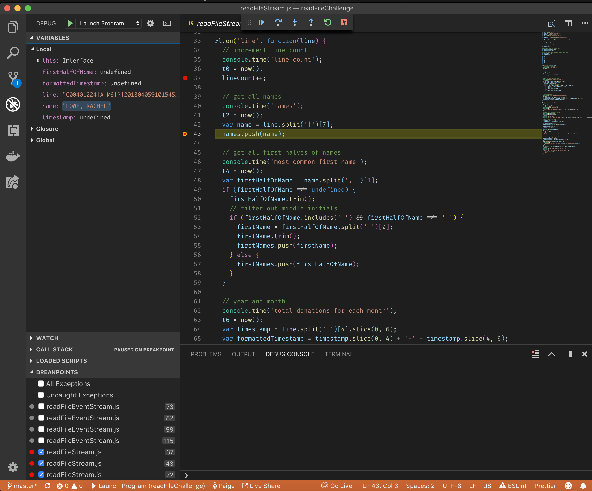 The Absolute Easiest Way to Debug Node js — with VS Code