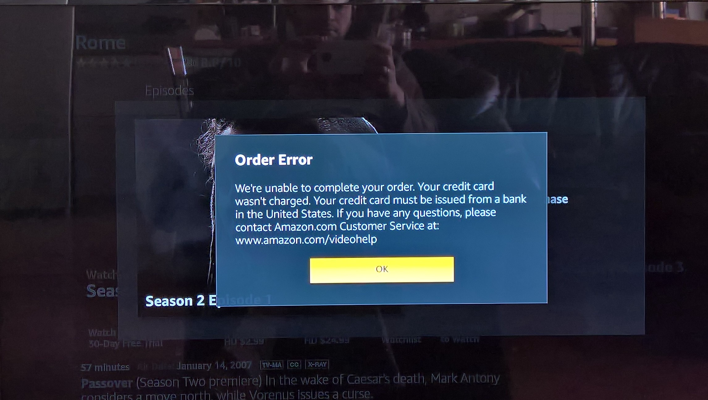 """Amazon Fire TV Stick in an """"unsupported"""" market - </dev> diaries"""