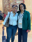 Mico Yuk and GHC President Brenda Wilkerson at the GHC 2019 celebration.