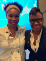 Mico Yuk and Stephanie Lampkin at the GHC 2019 celebration.