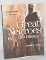 Great Negroes Past and Present book cover. The title is written in white typeface and the background is light brown with beige and white accents. There is a silhouette of a man on the front cover.