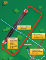 Graphic displaying preferred entry from upwind leg side of airport.
