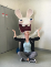 Deirdre O'Connor at Ubisoft Paris Studios with Raving Rabbids