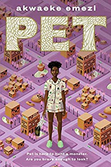 Akwaeke Emezi's new book PET. Cover art by shyama golden.