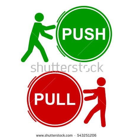 Push pull dating examples