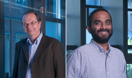 Headshots of Paul Janmey and Vivek Shenoy