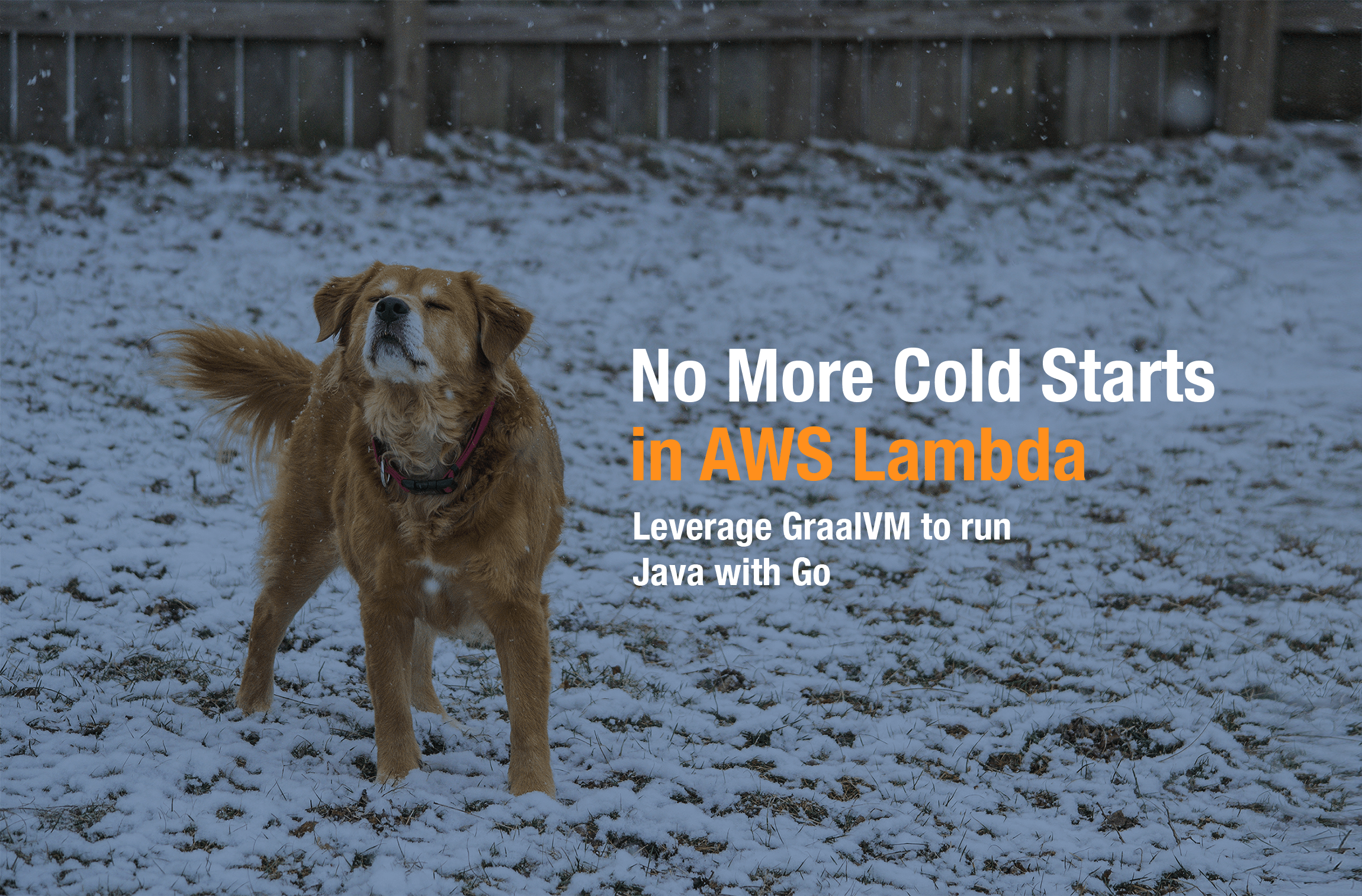 Using GraalVM to run Native Java in AWS Lambda with Golang
