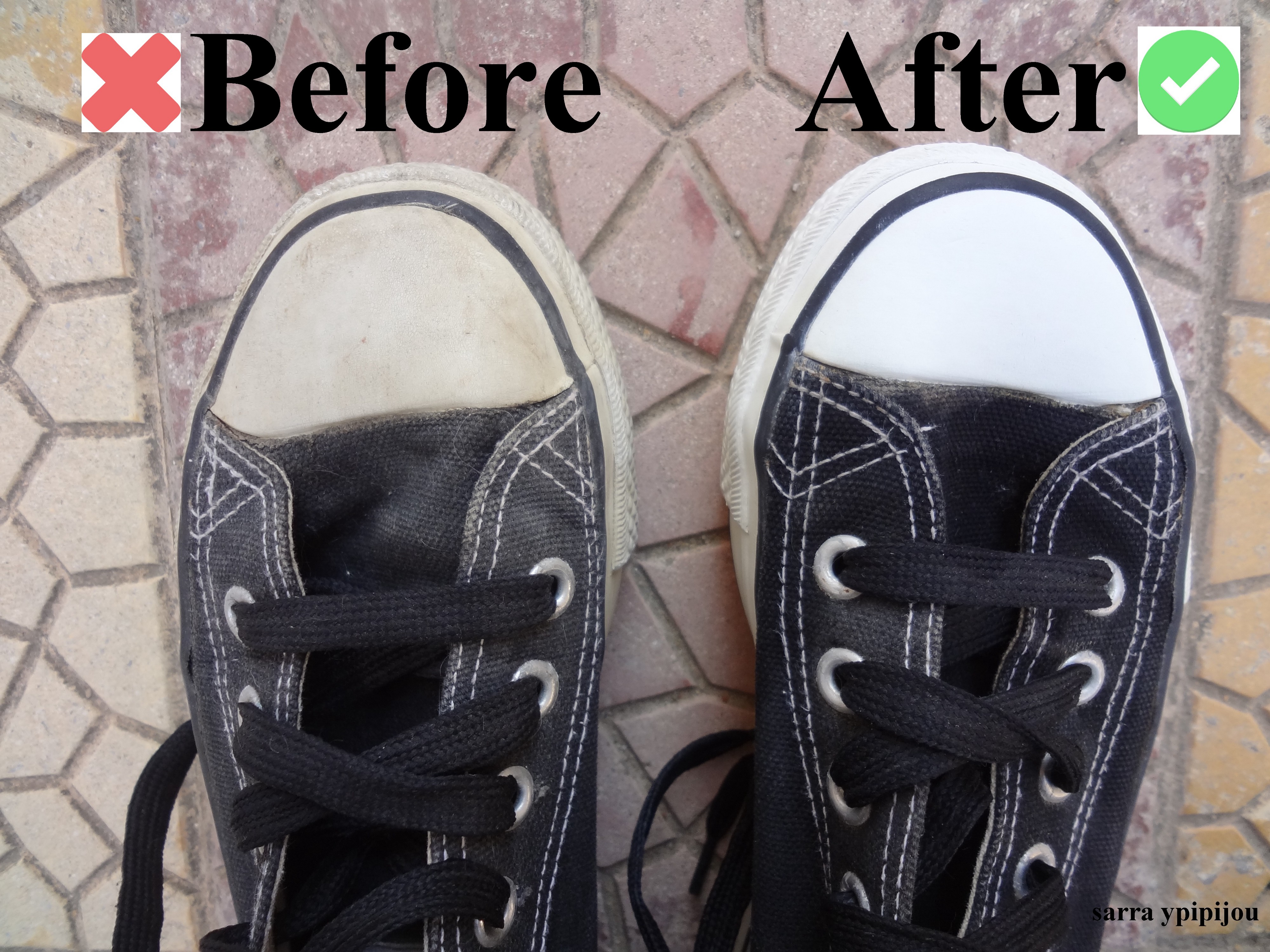 How To Clean Converse Sneakers When They Turn Yellow