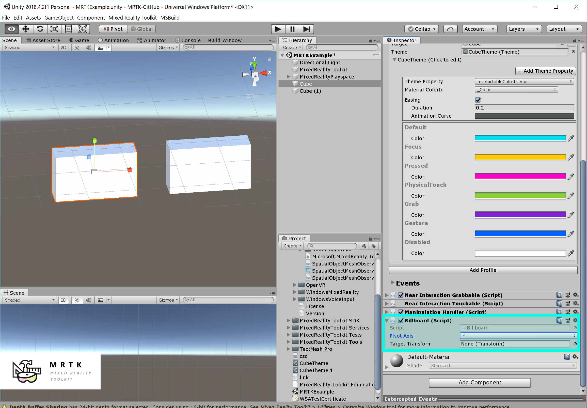 MRTK 101 / FAQ: How to use Mixed Reality Toolkit Unity for