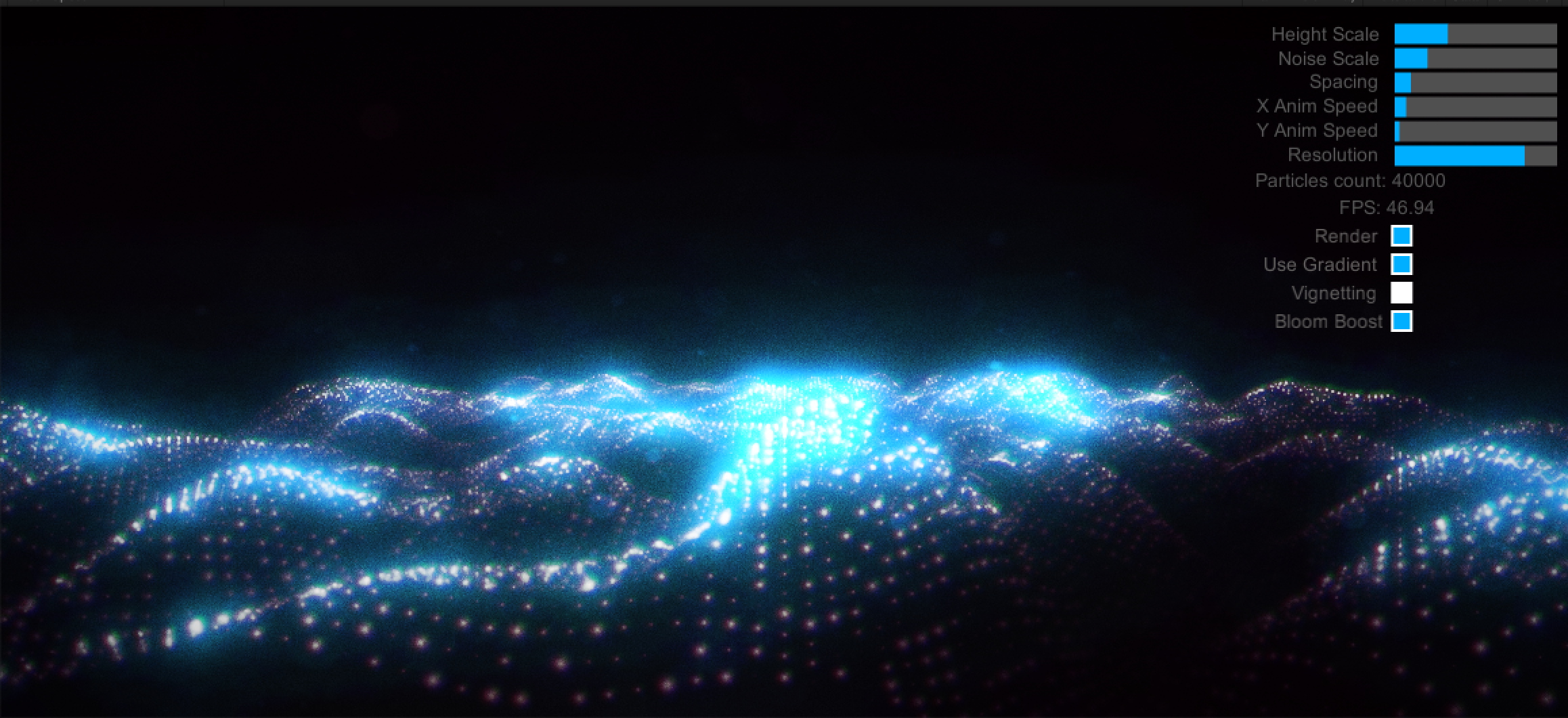 Tutorial] Particle Sea in Unity3D - Rafal Wilinski - Medium