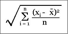 Image result for root mean square standard deviation