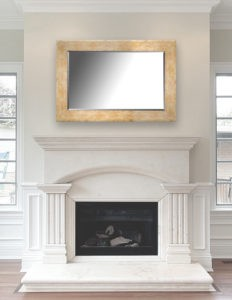MIRRORS OVER MANTLES — ADDING A DESIGNER MIRROR TO YOUR ...