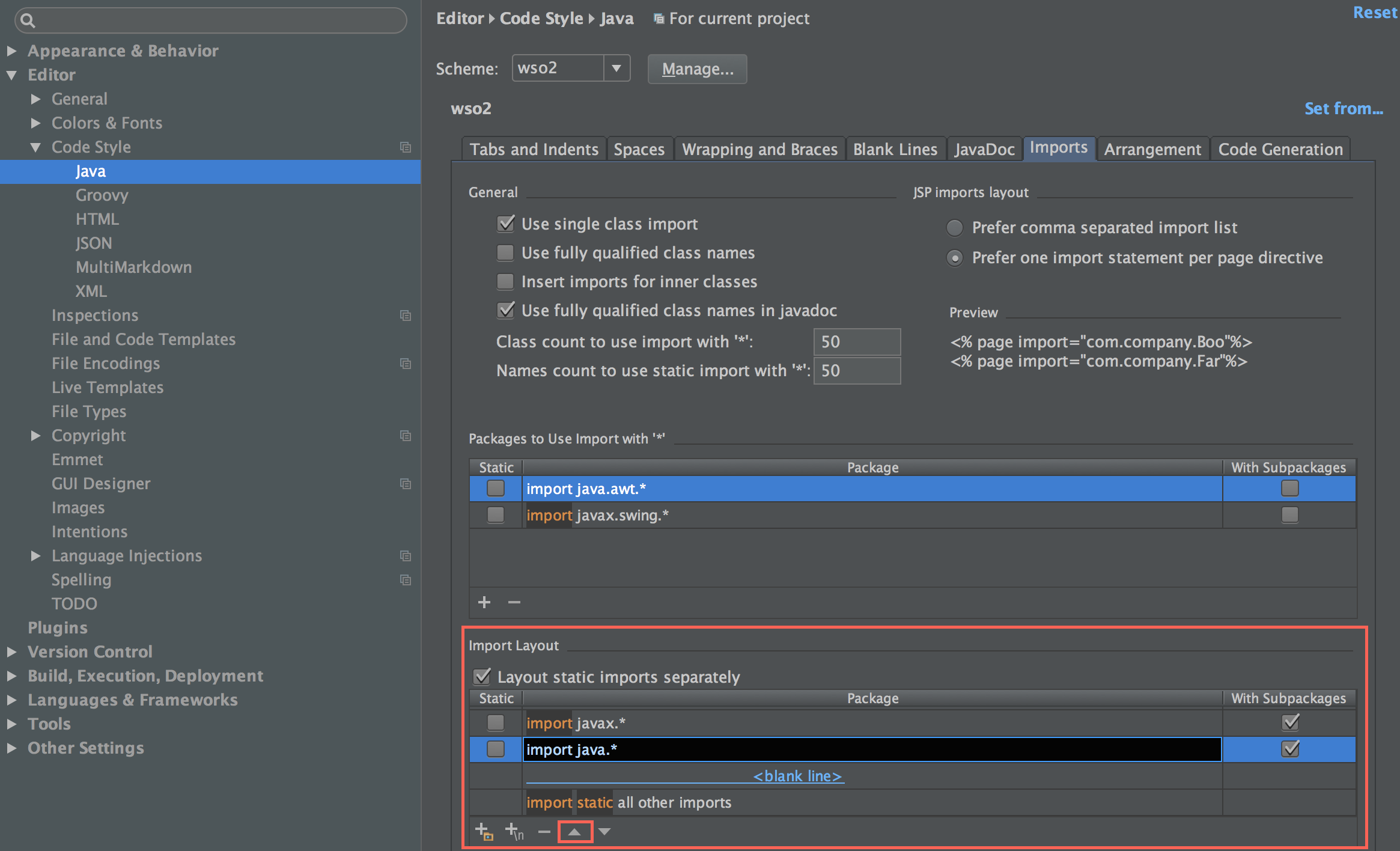 Configuring Intellij IDEA to overcome Checkstyle 'Wrong