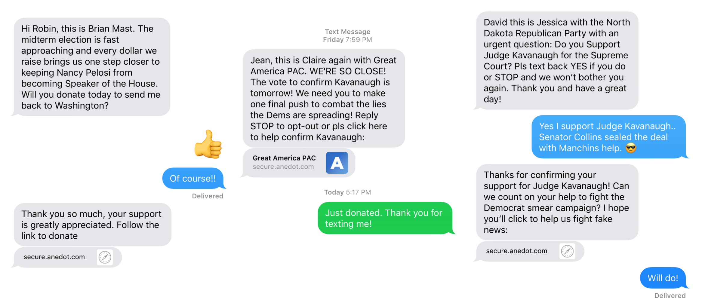 Text-to-Win: Your Midterm Elections Peer-to-Peer Texting
