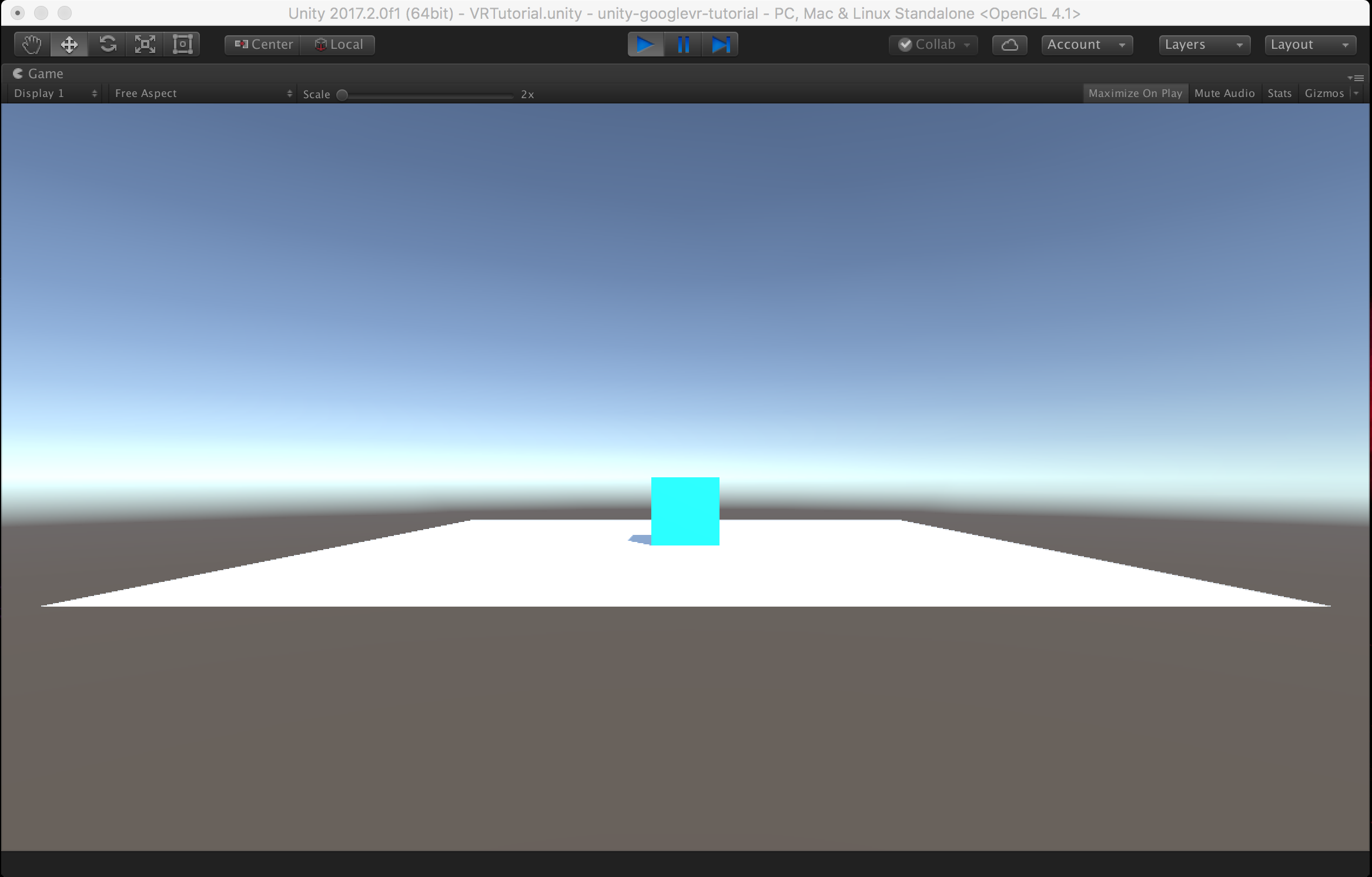 Start building your first Virtual Reality application with