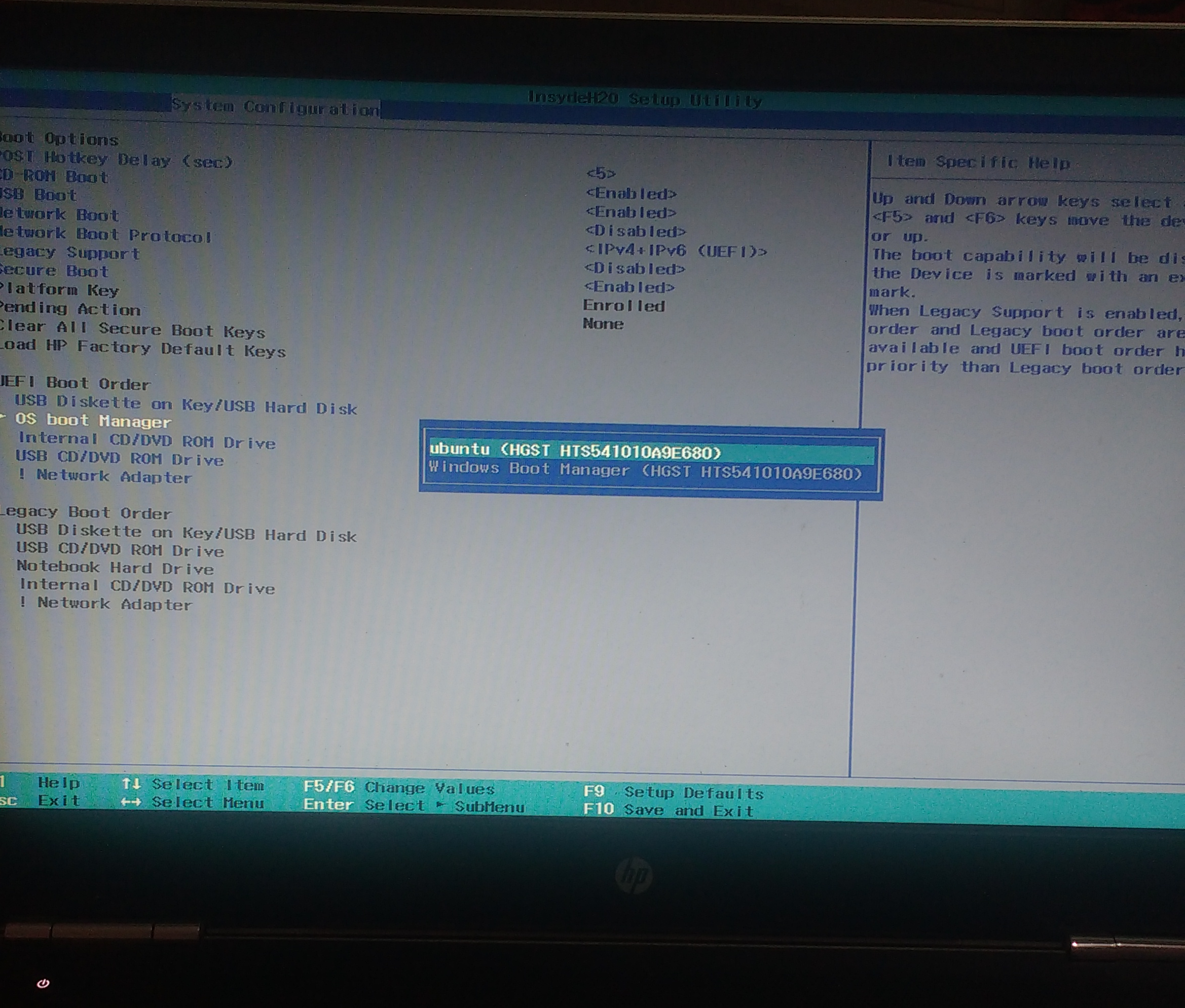 Lessons learnt while fixing a dual boot issue in HP Pavilion