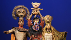 Rafiki introduces Simba to the Pride Lands (Lion King the Musical)