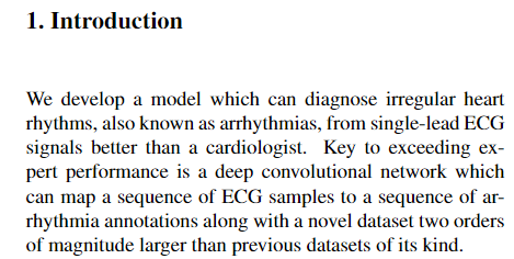 Archived Post ] Cardiologist-Level Arrhythmia Detection with