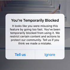 How to avoid getting banned, blocked or disabled by Instagram?