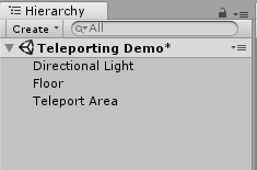 Implementing Teleportation in VR Environment (Steam VR and