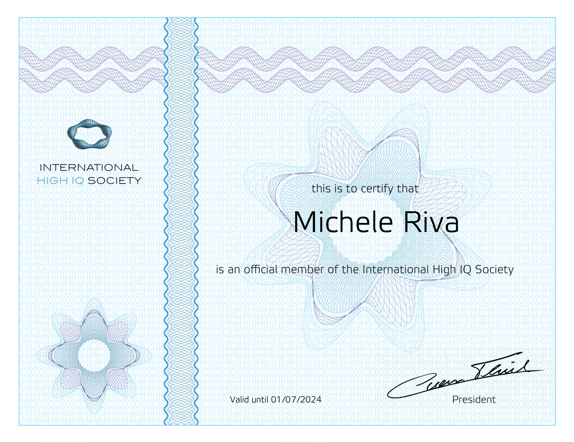 How I joined the International High IQ Society - Michele