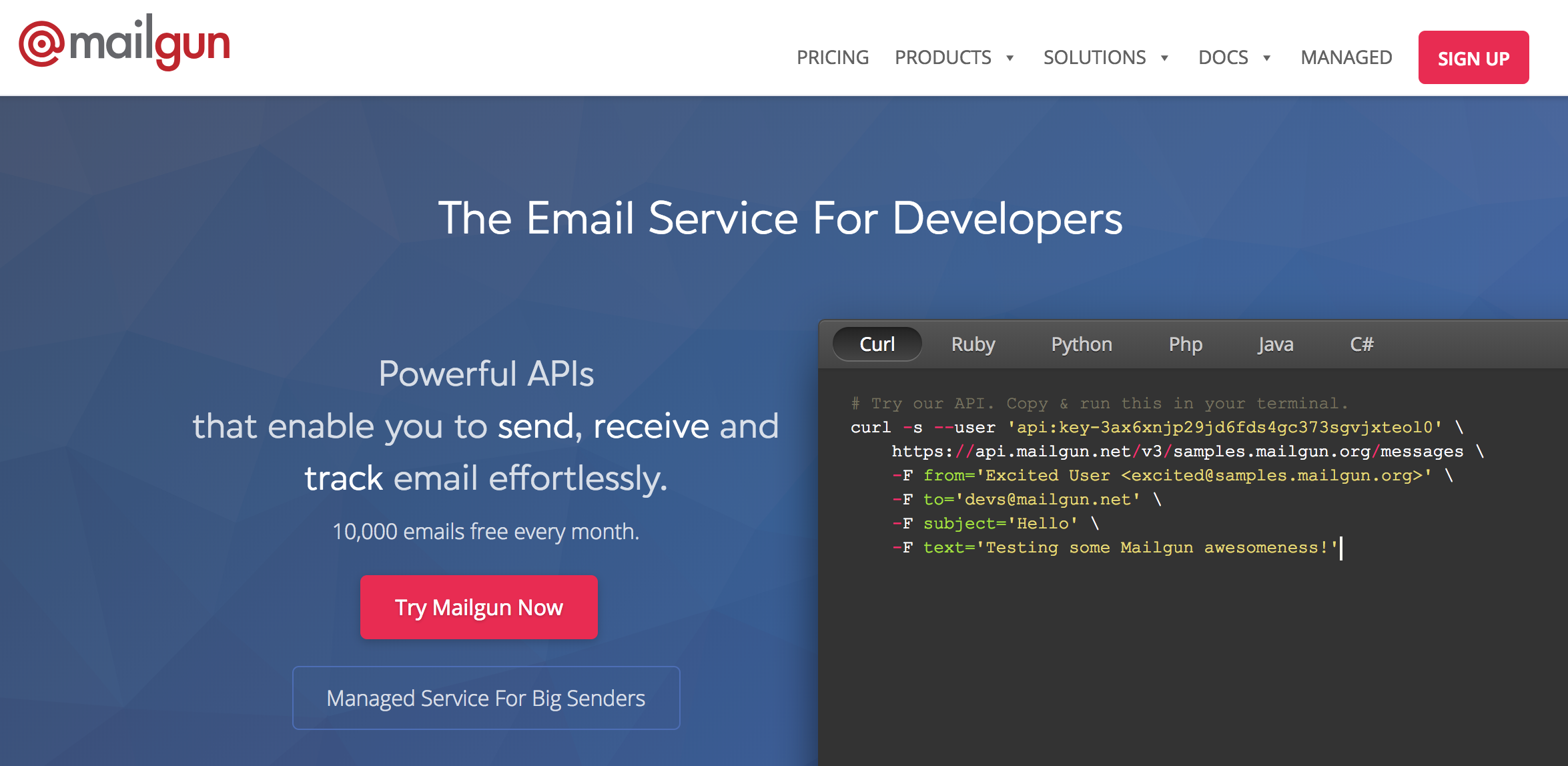 Build Laravel 5 7 Email Authentication with Mailgun and