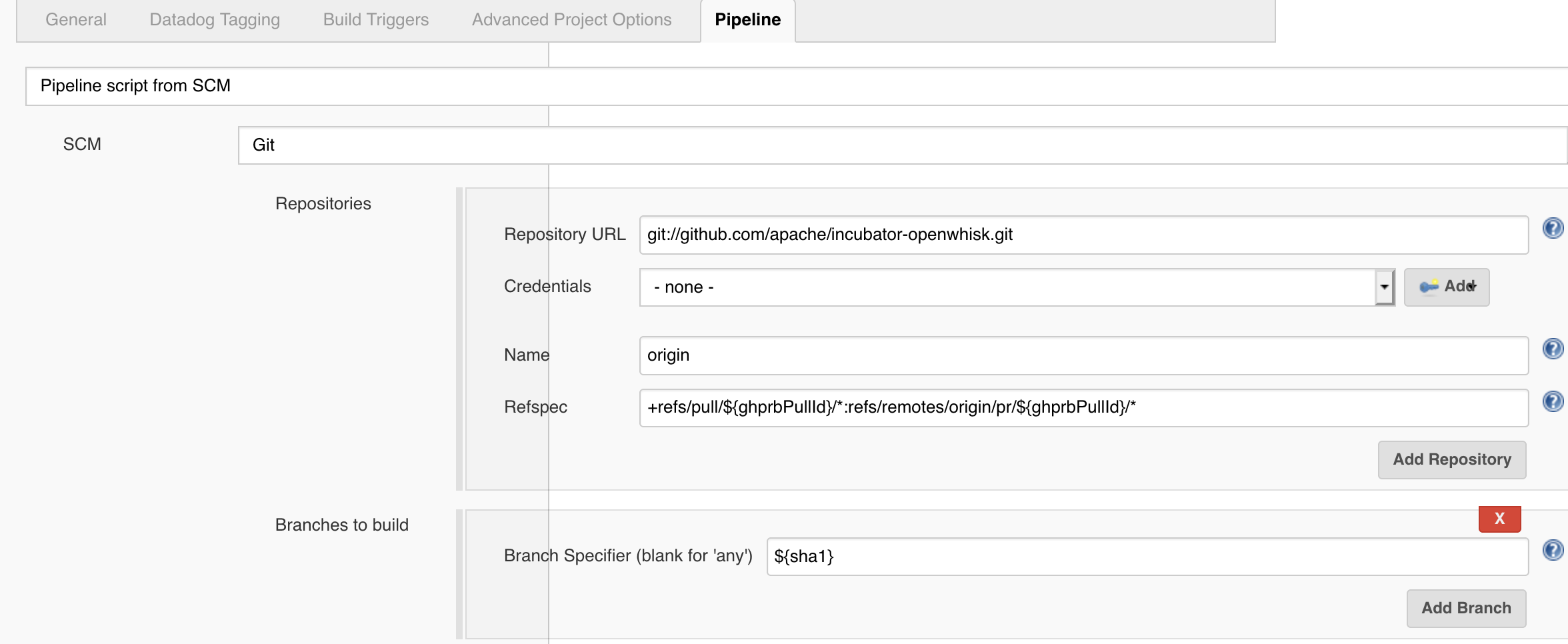 How to make Jenkins pipeline jobs triggered by pull requests