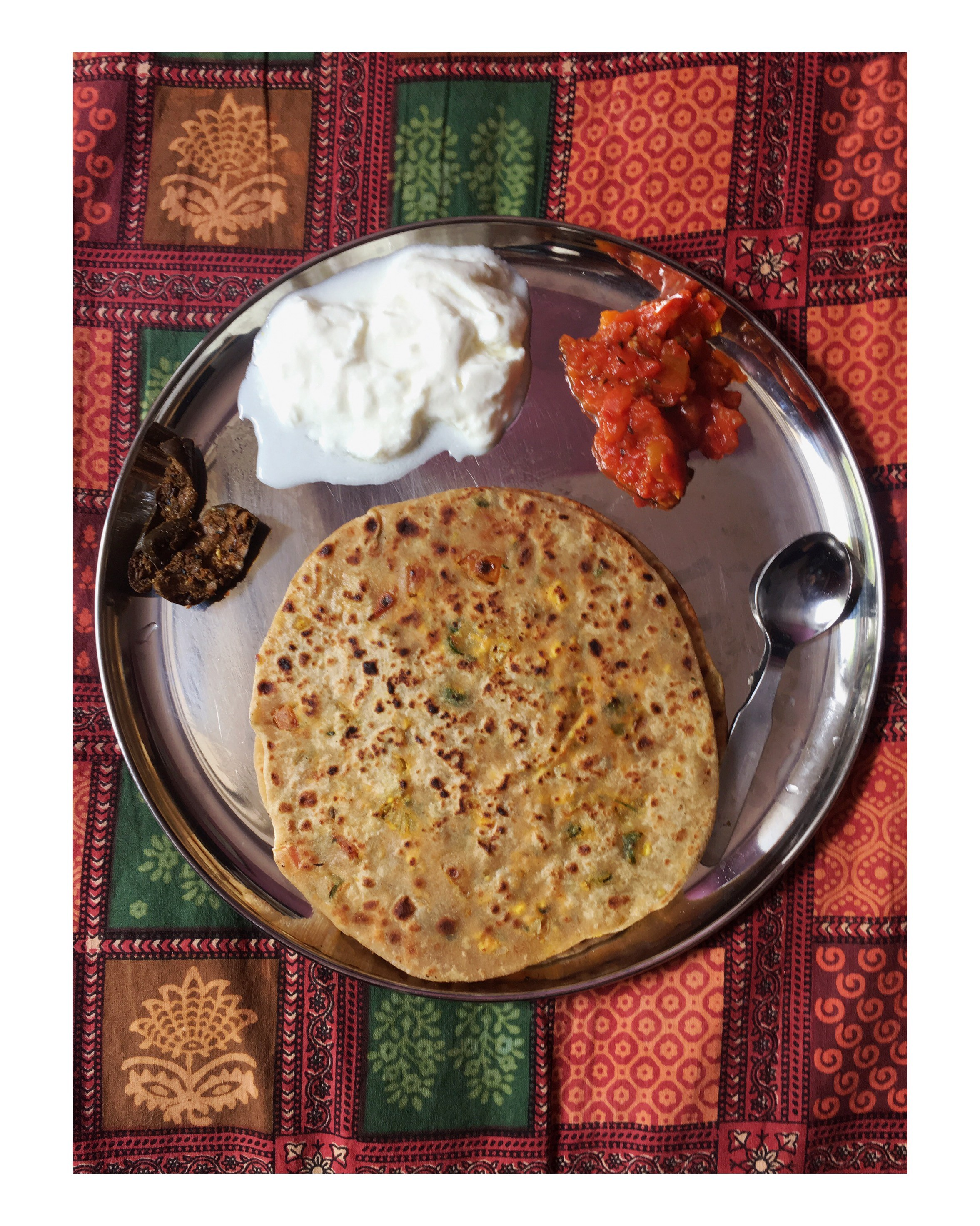 Paneer Parantha When I Have Time For Breakfast I Enjoy By Veena Shahane Foodblogbyveena Medium