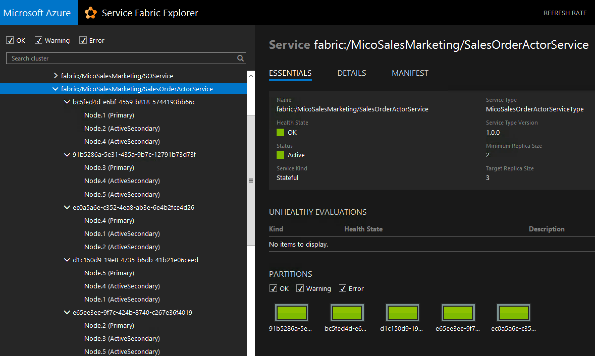 A Tryst with Microservices on Microsoft Azure ServiceFabric