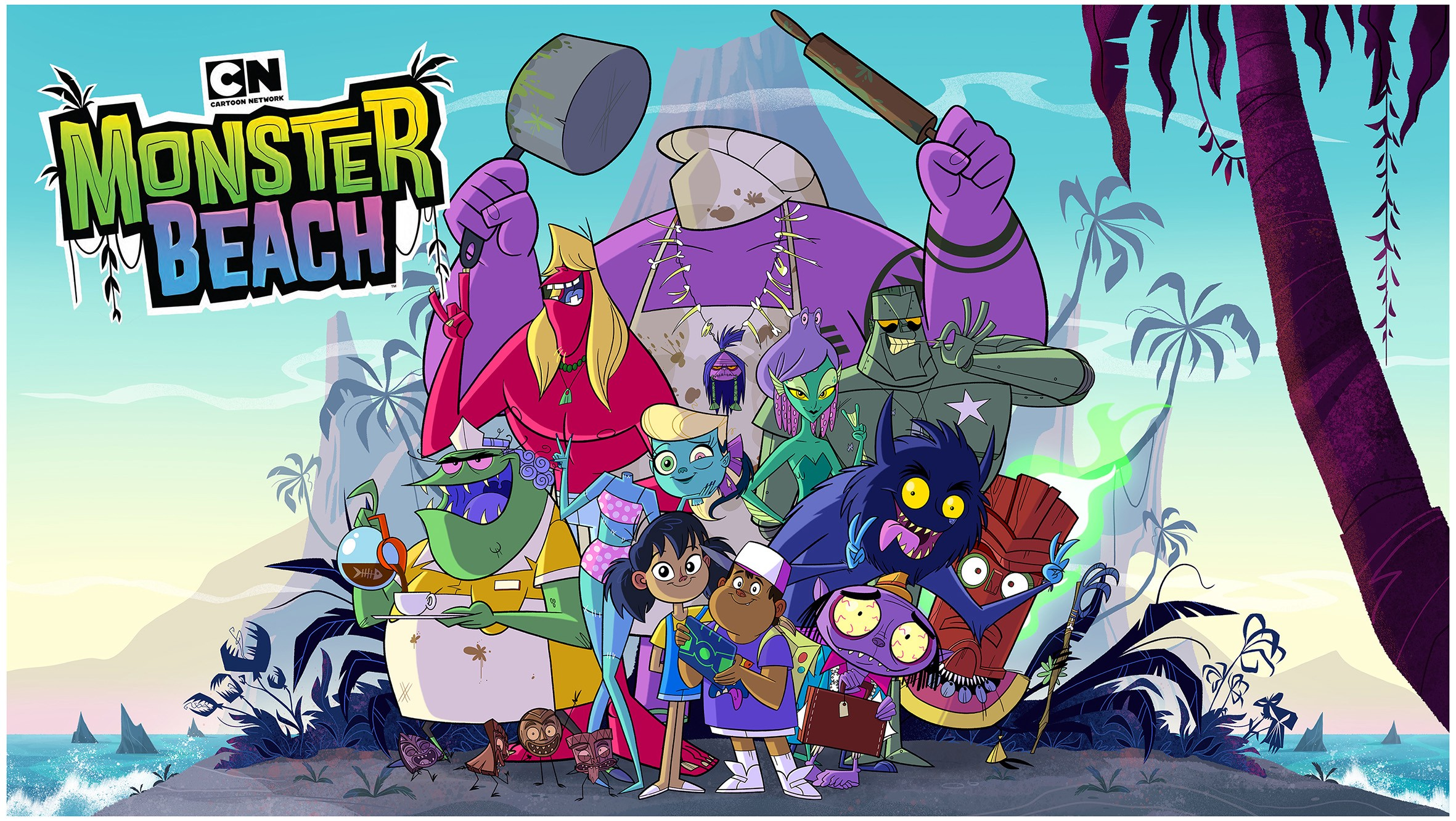 Monster Beach And Swimming With The Southeast Asian Animation Tide Catching Up With Cartoon Network And Inspidea By Deconrecon Asia Medium