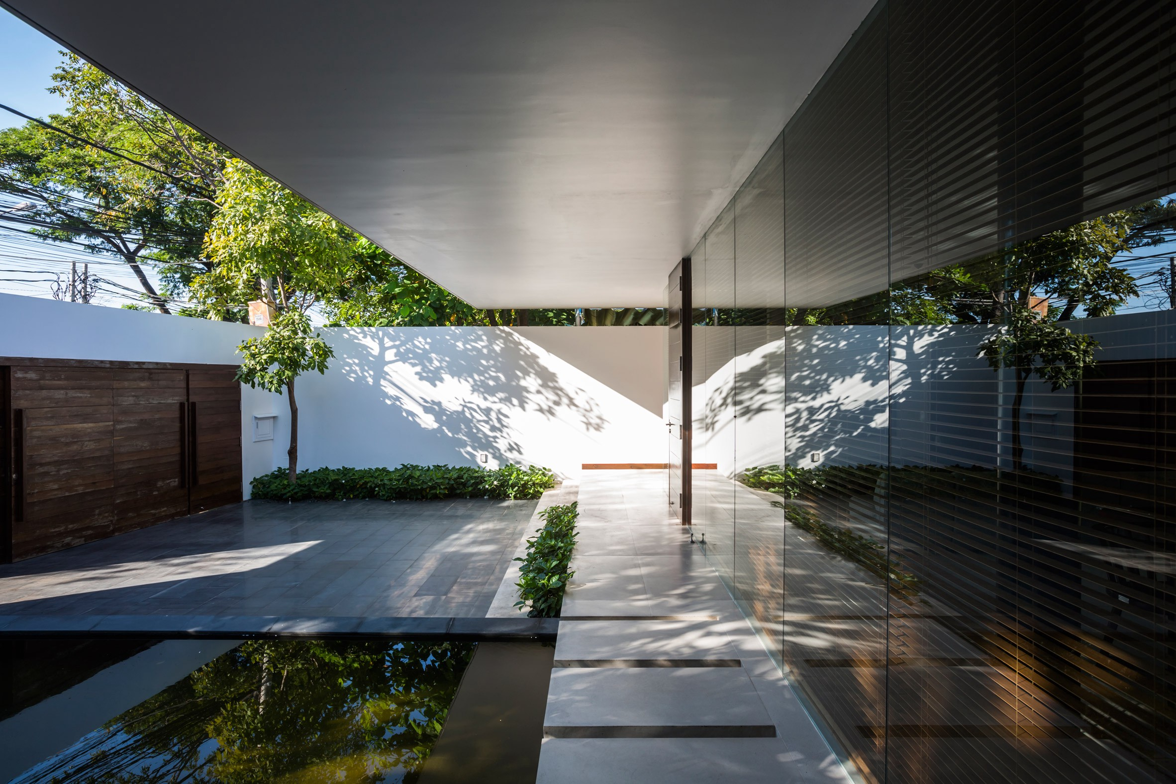 Mia Design Studio Envelopes Vietnam House In Plant Covered Walls And Courtyards By Julian Mouton Medium