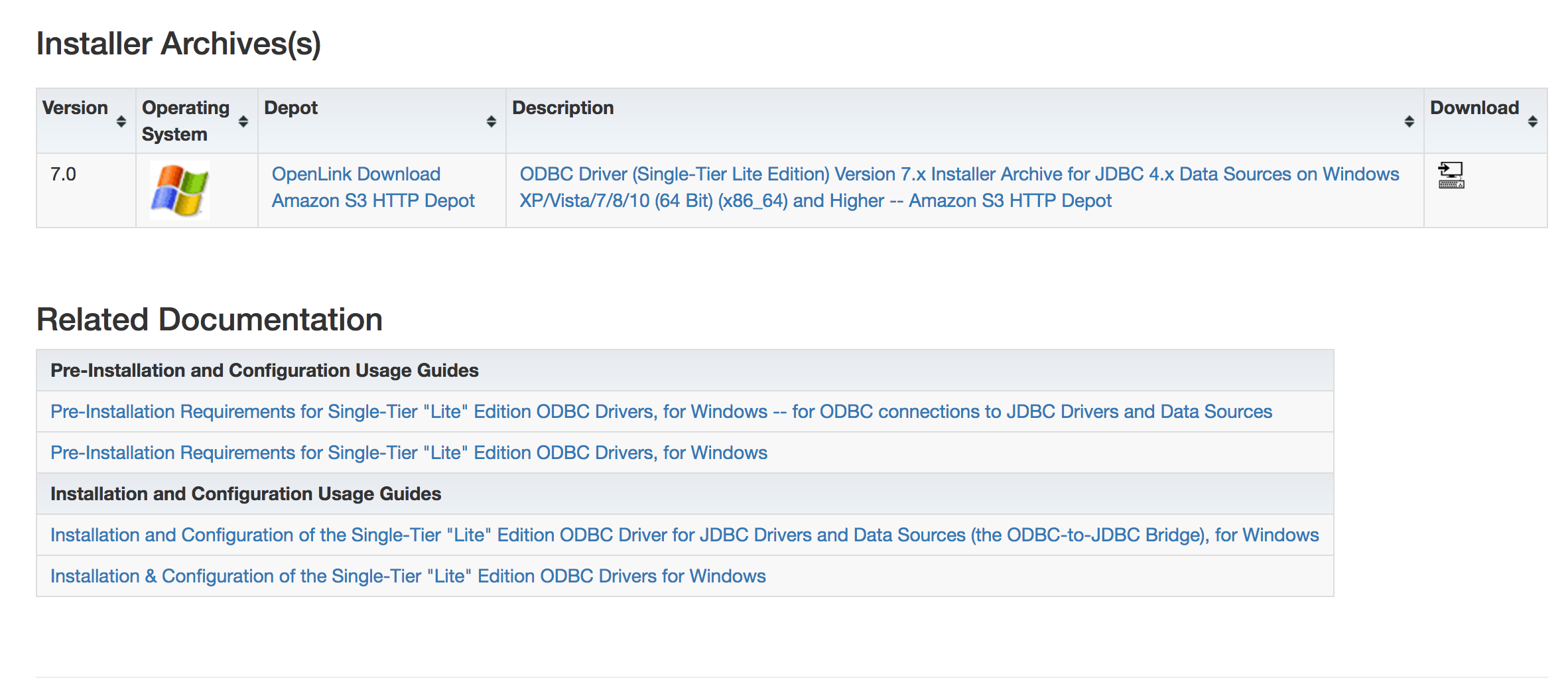 Installing & Using the OpenLink Lite Edition ODBC–to–JDBC