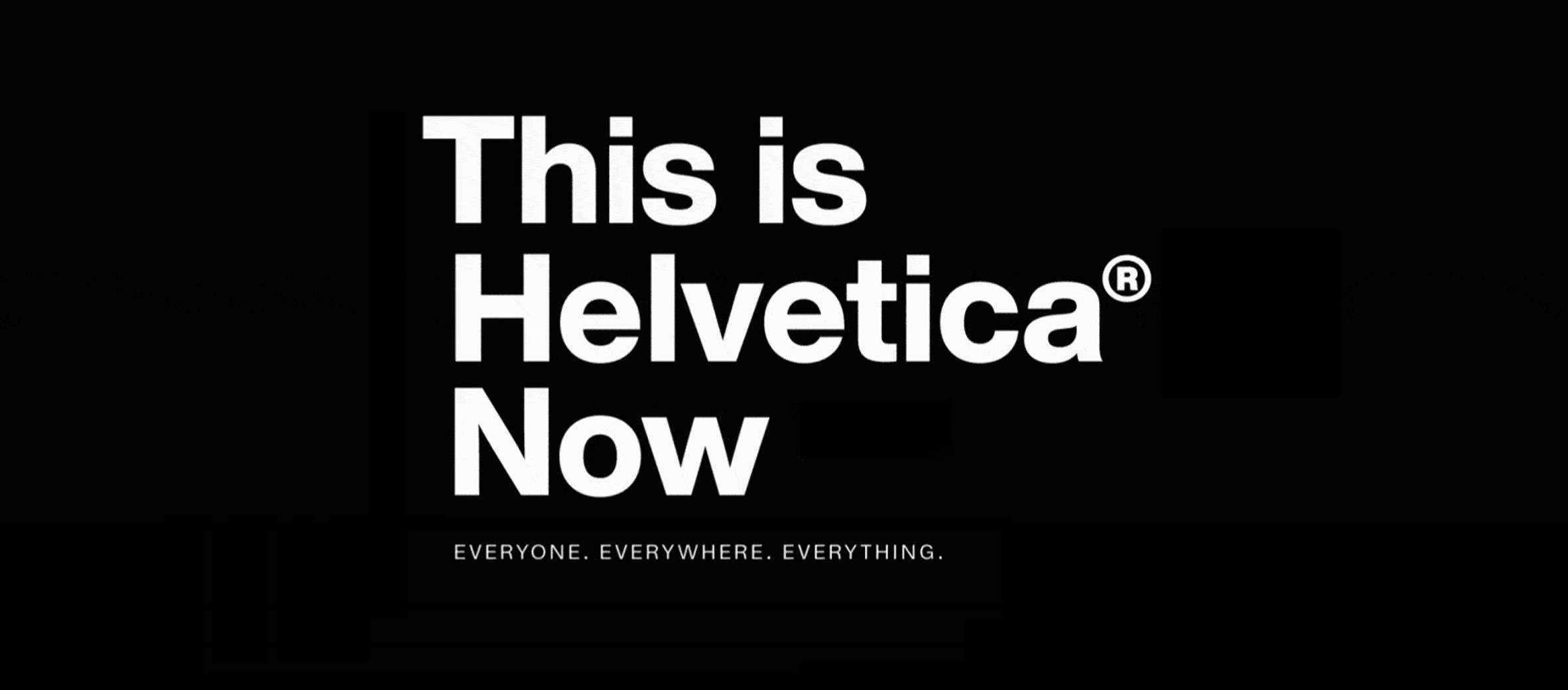 Helvetica Now: A new take on an old friend - Muzli - Design