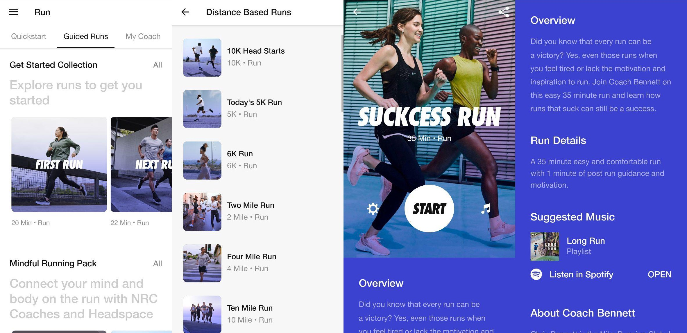 Buque de guerra retirarse Tengo una clase de ingles  Lessons from Nike Running Club's Guided Runs | by Tan Kit Yung | The  Psychology of Everyday Phenomena | Medium