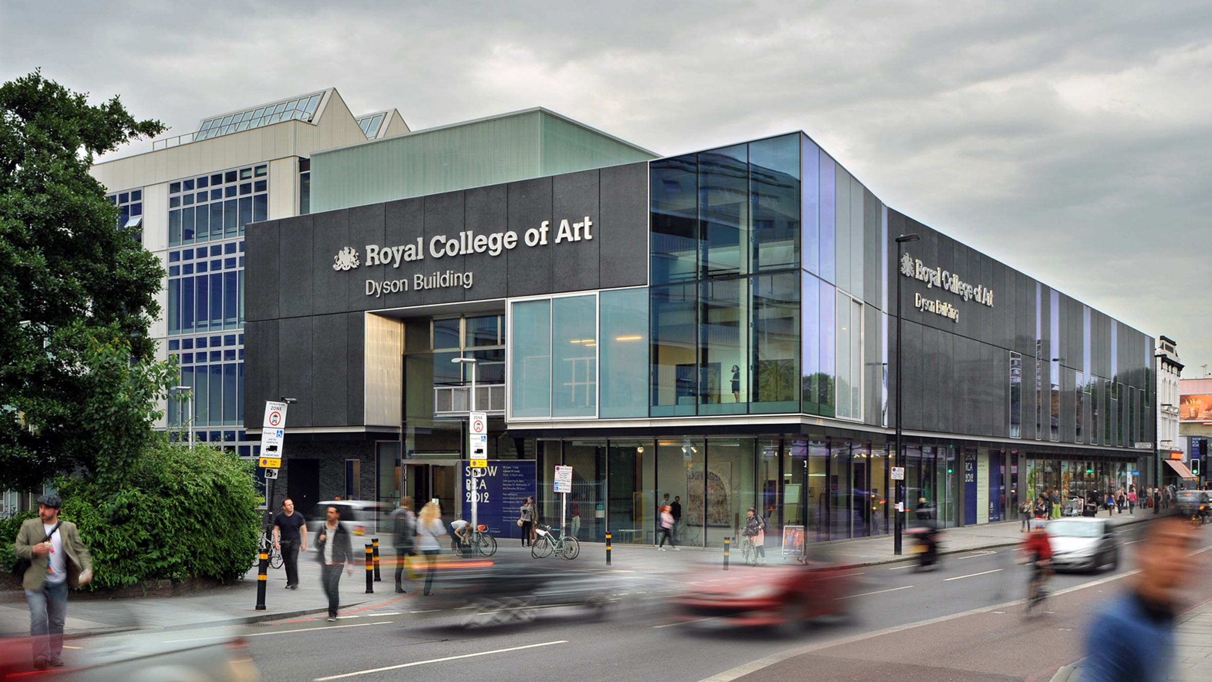 Royal College Of Art >> An Extrovert Intranet For The Royal College Of Art