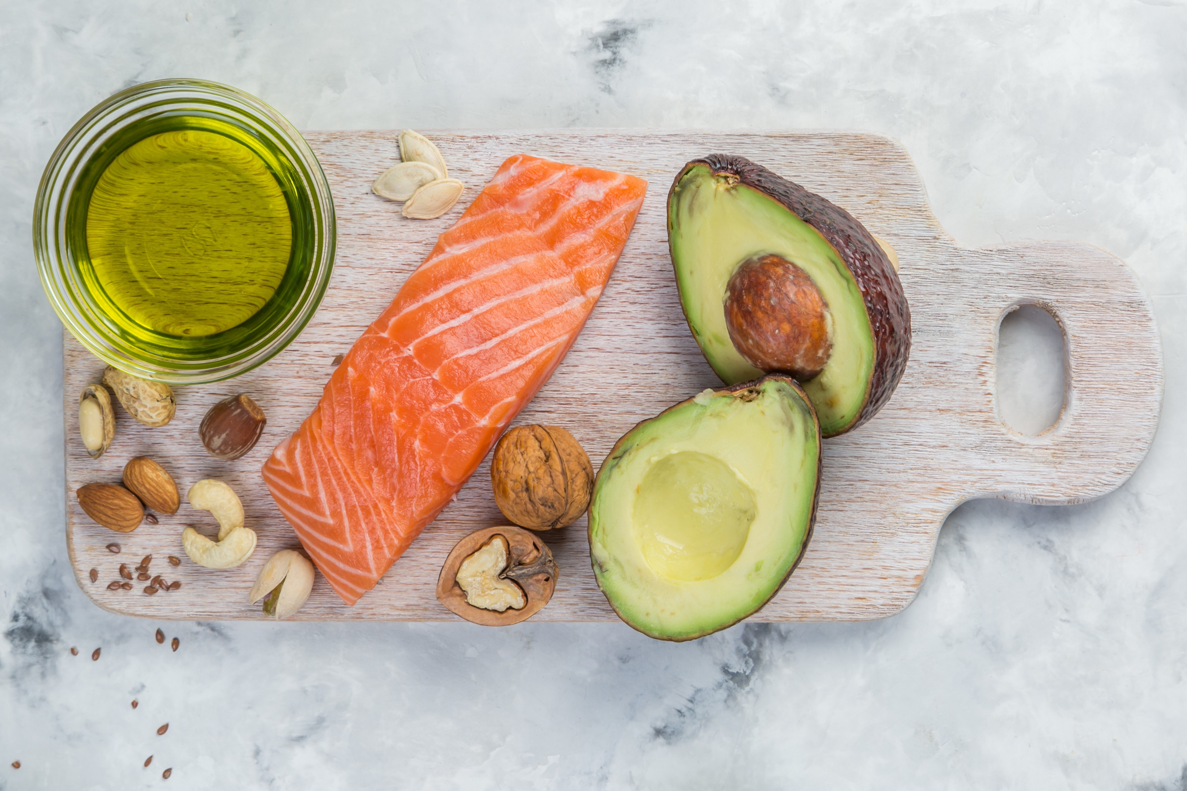 Now, what are the main fatty acids in our diet?