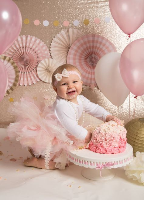 Tremendous Cute Smash Cake Ideas For Baby Girl Bondita Deka Medium Funny Birthday Cards Online Inifofree Goldxyz