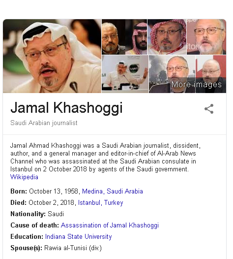 Key Notes: The Facts on Jamal Khashoggi Killing - Sabbir