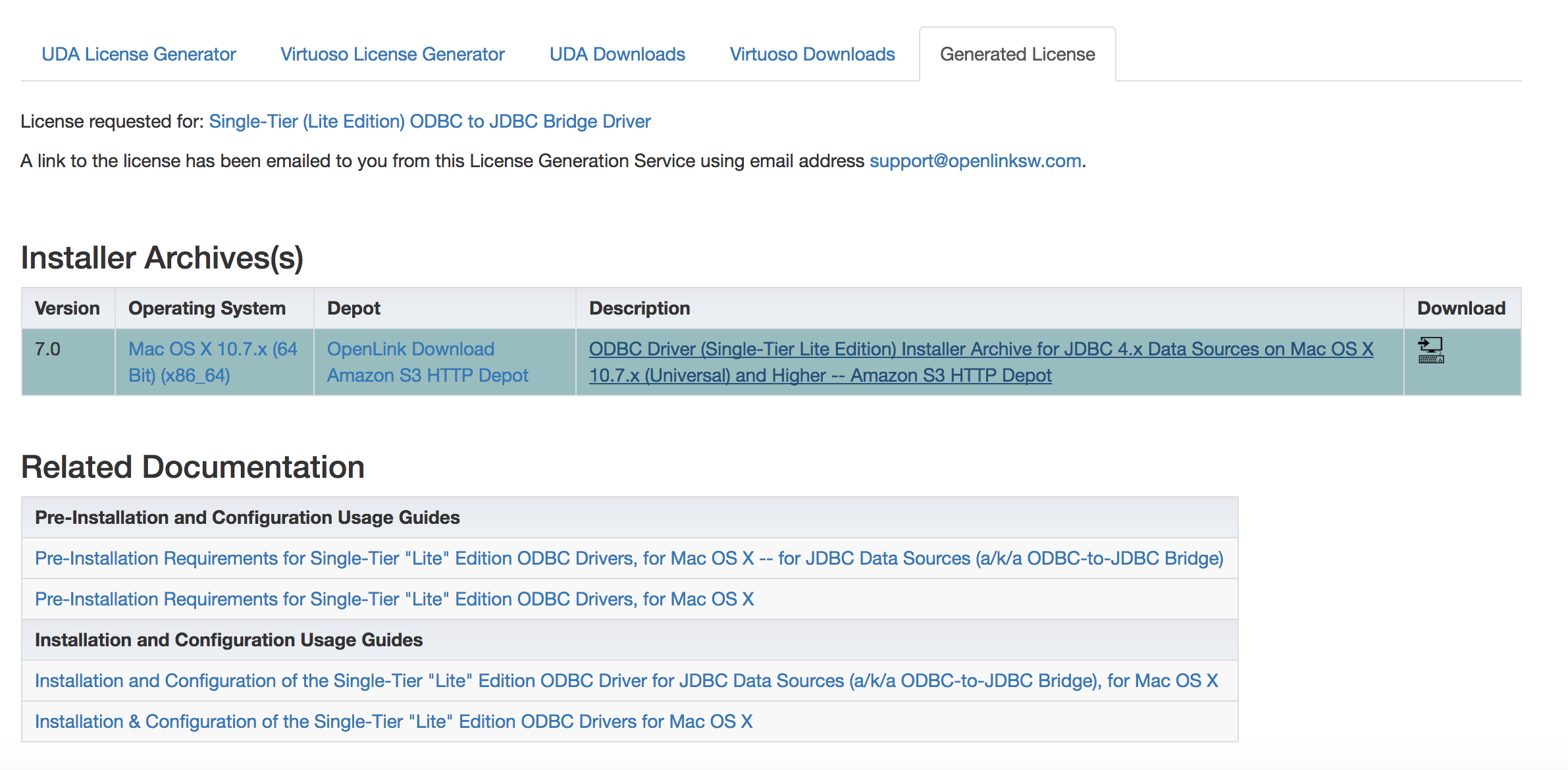 Installing & Using the OpenLink ODBC–to–JDBC Bridge Driver