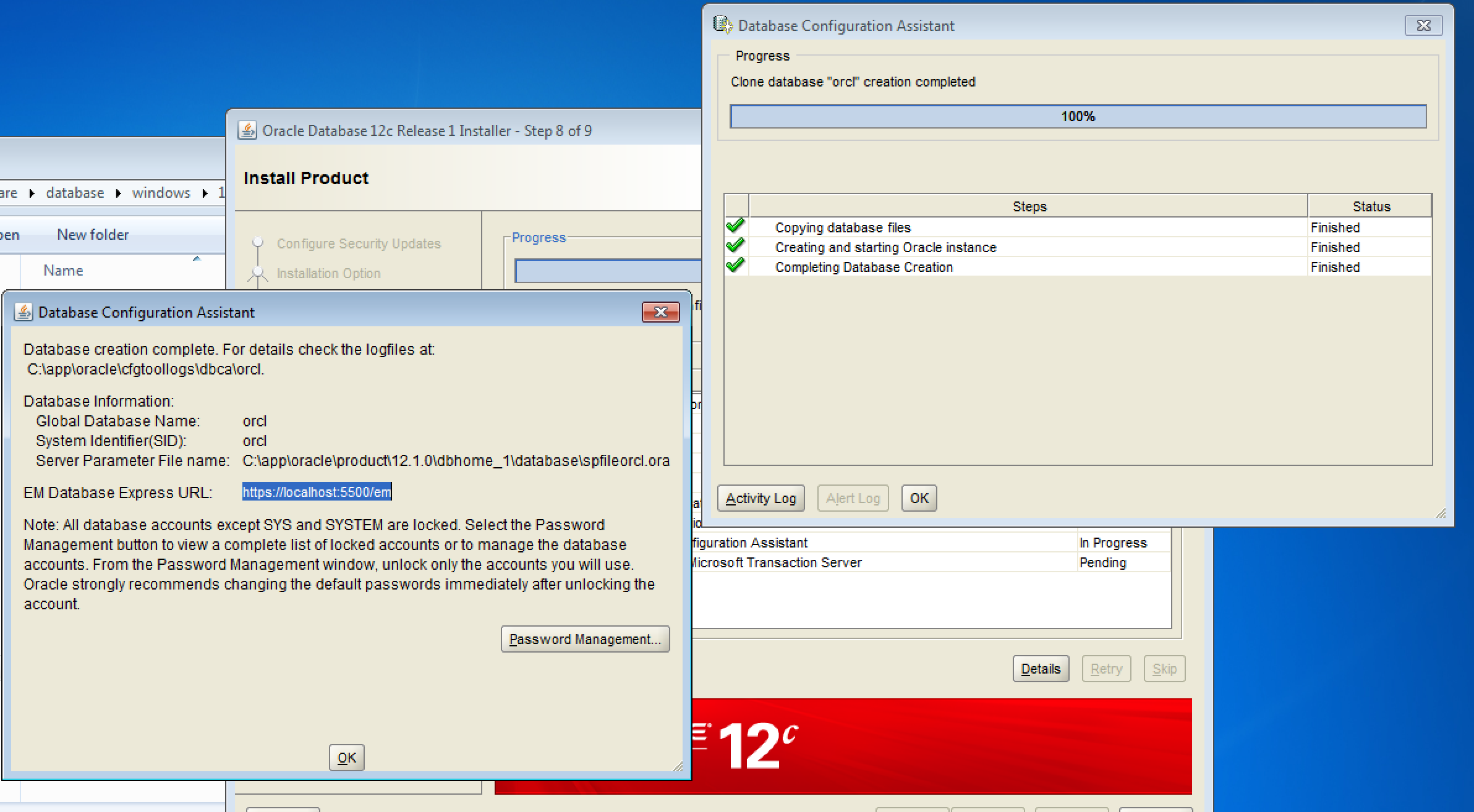 Does Oracle Database 12c Just Not Work on Windows? - Red