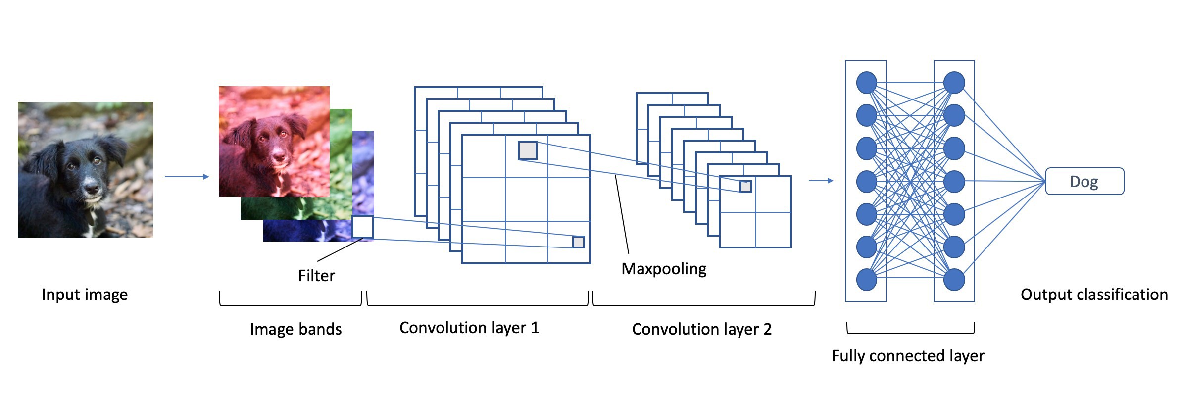 Convolutional neural network for image classification
