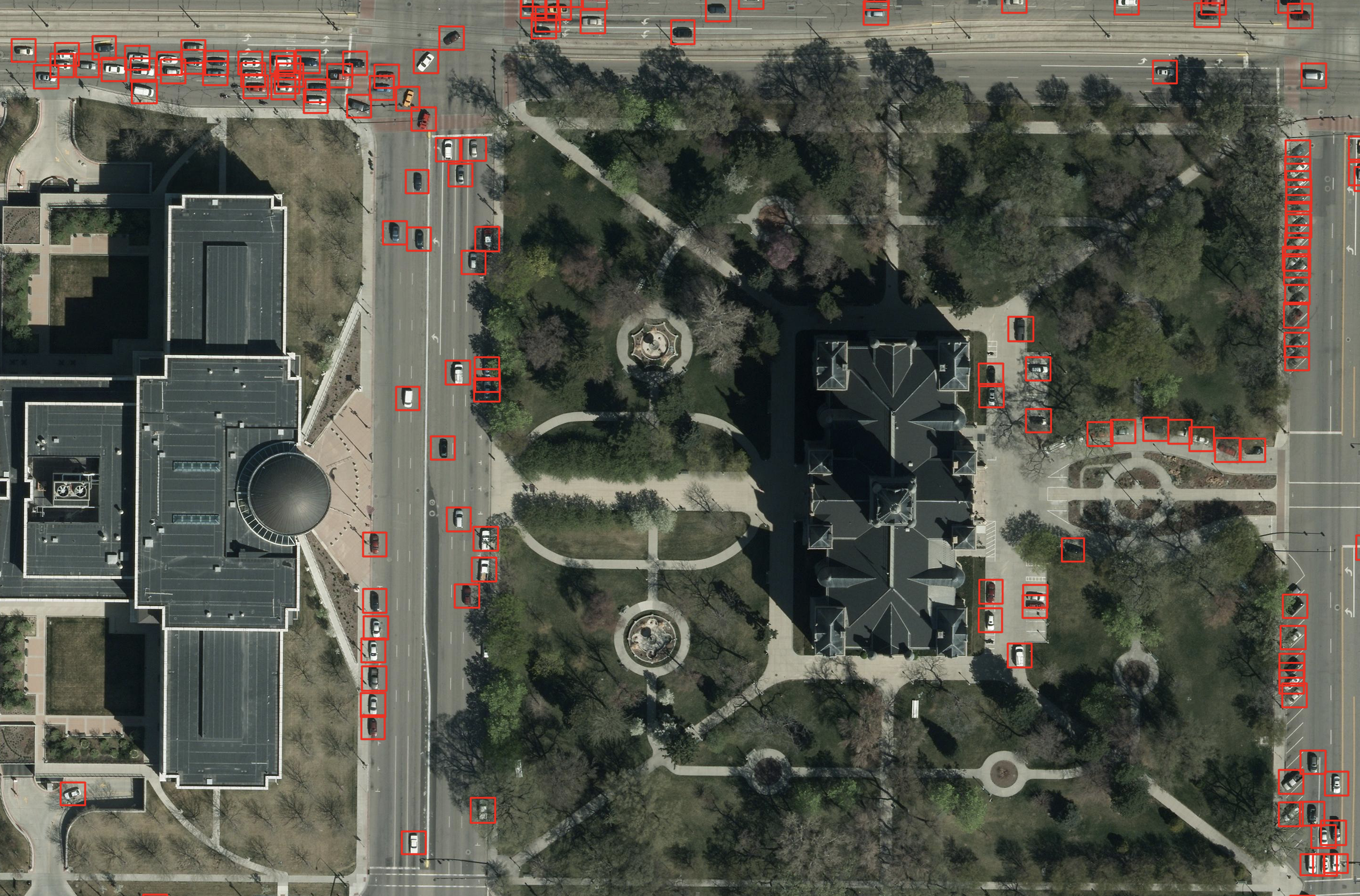 Object Detection with Deep Learning on Aerial Imagery