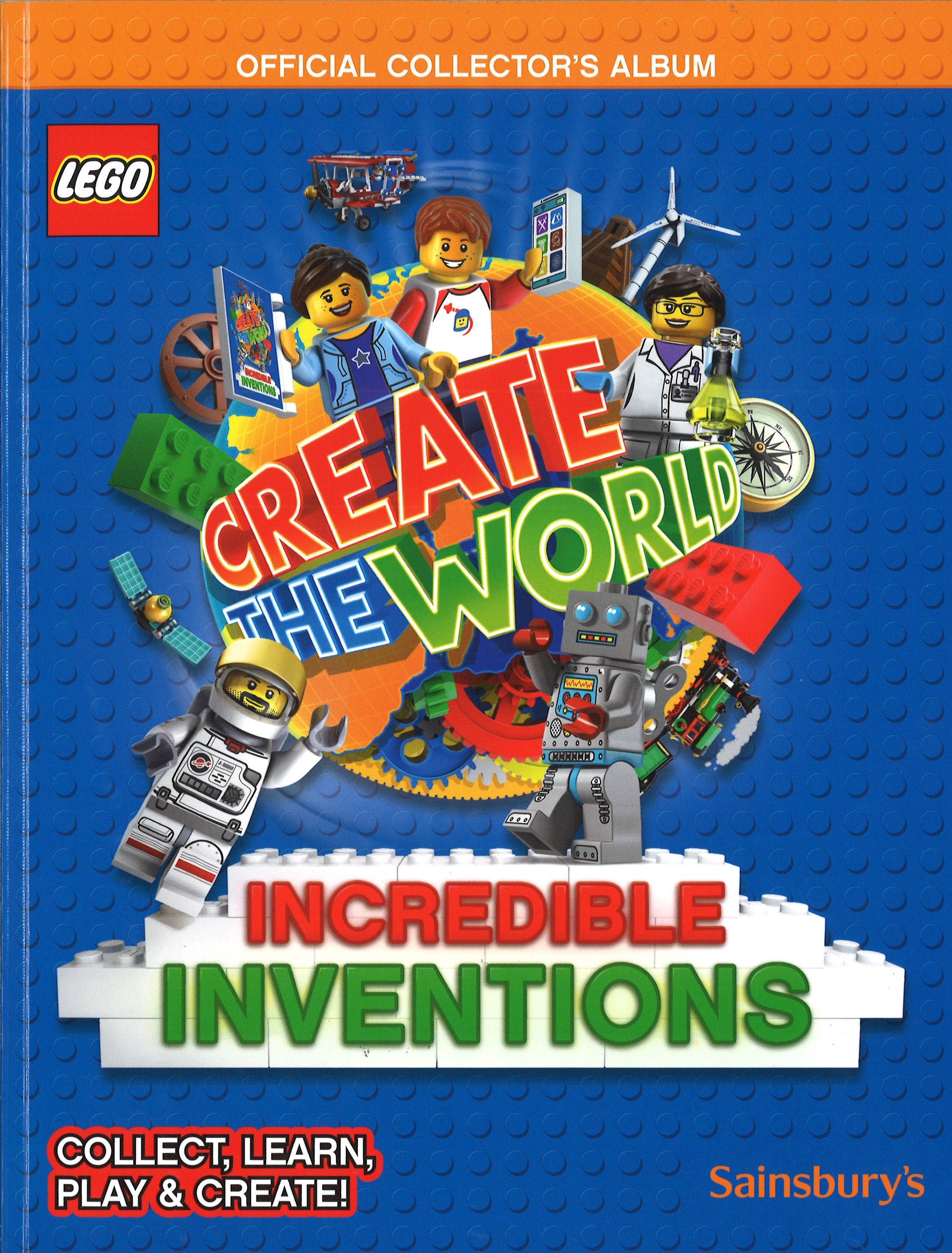 LEGO INCREDIBLE INVENTIONS 2018 CARDS     CHOOSE