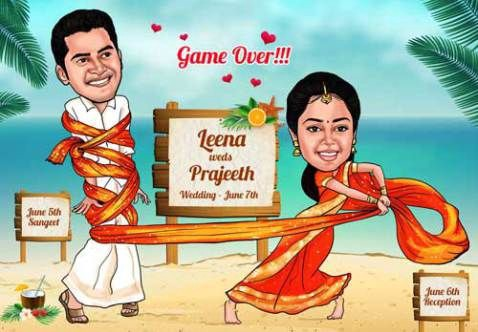Hilarious Tamil Wedding Invitations That Will Make You Gasp