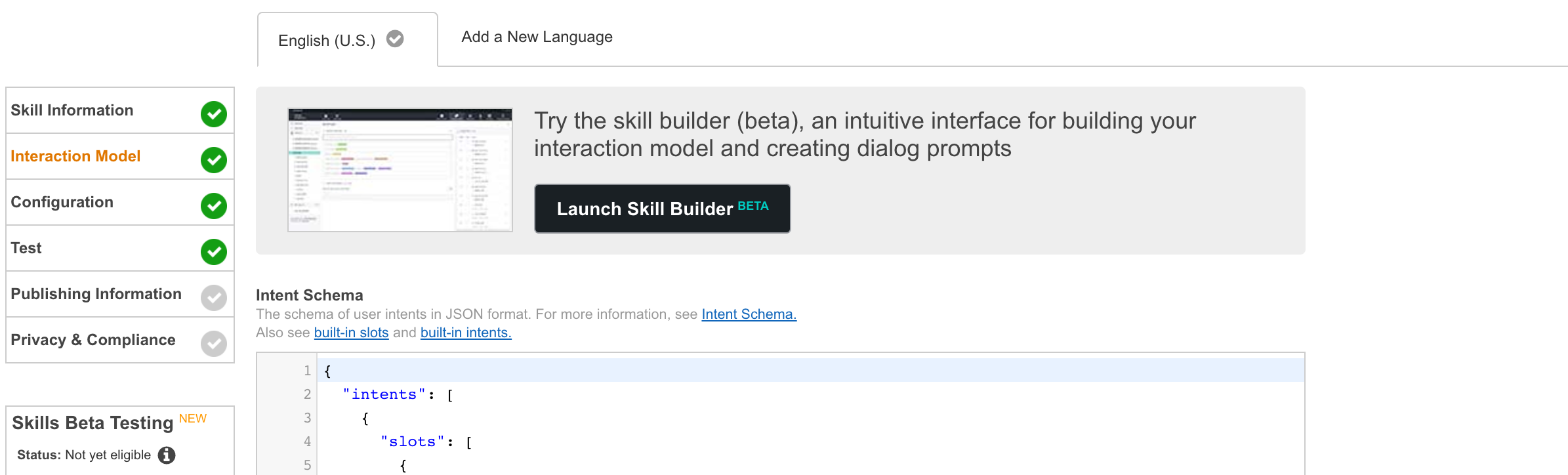 How to create an Alexa skill with Node js and DynamoDB