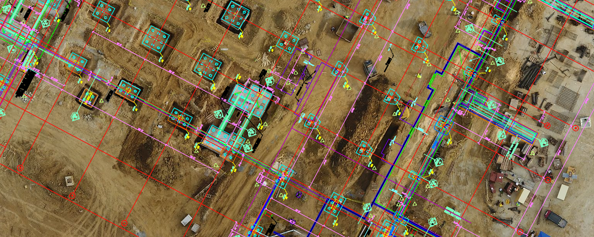 Compare Design Plans And Drone Maps With New Overlay Tool By Dronedeploy Dronedeploy S Blog Medium