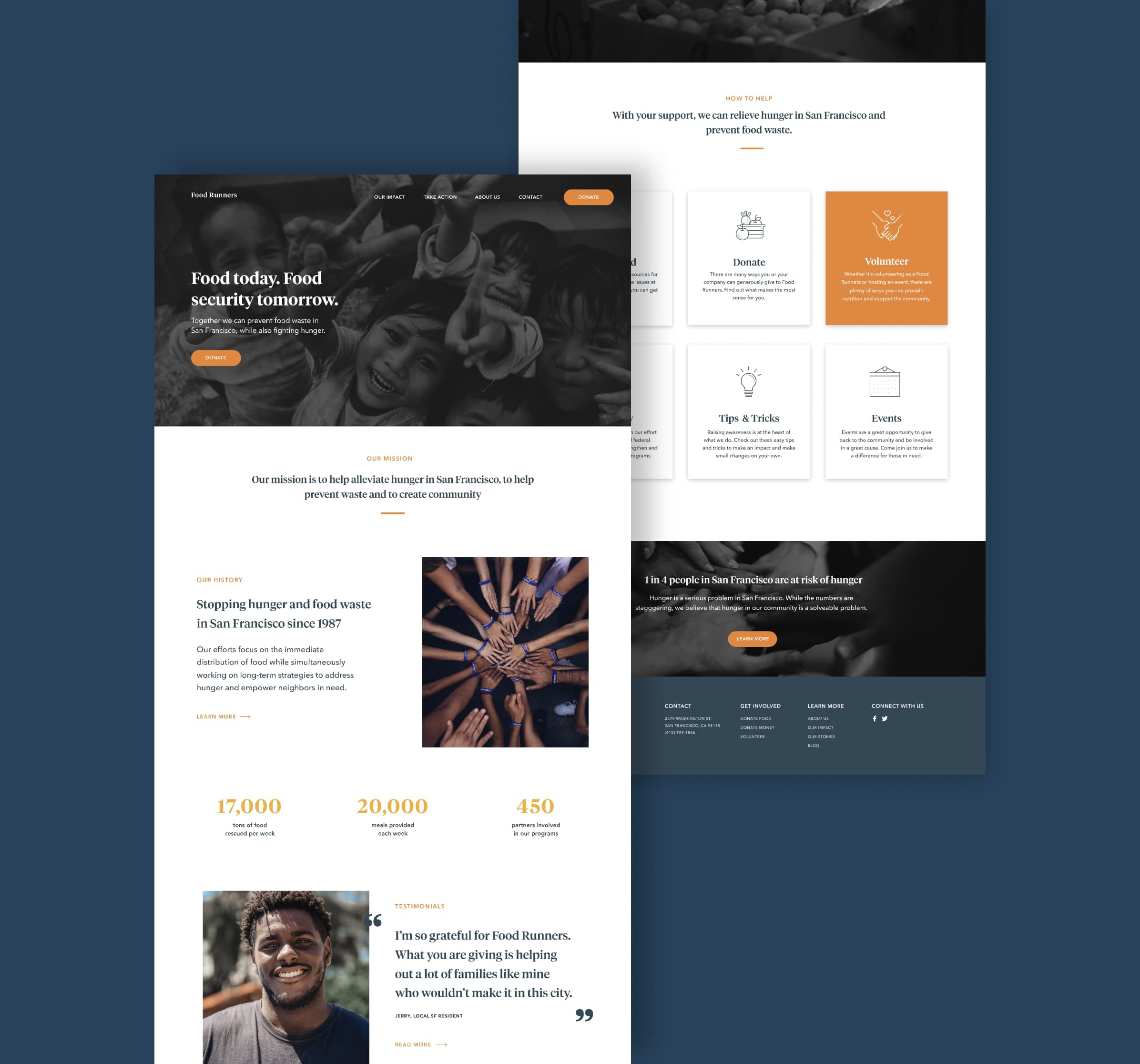 Redesigning A Non Profit Website A Ux Case Study By Allie Taylor Ux Collective